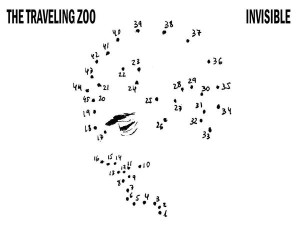 the traveling zoo invisible album cover