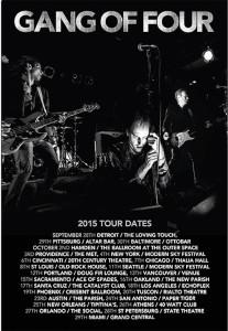 gang of four tour