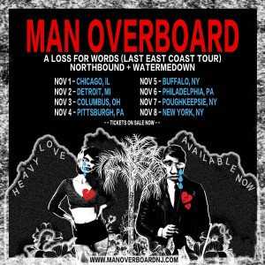 man overboard tour
