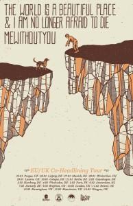 mewithoutyou tour poster