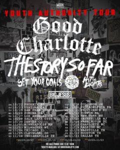 good charlotte us tour